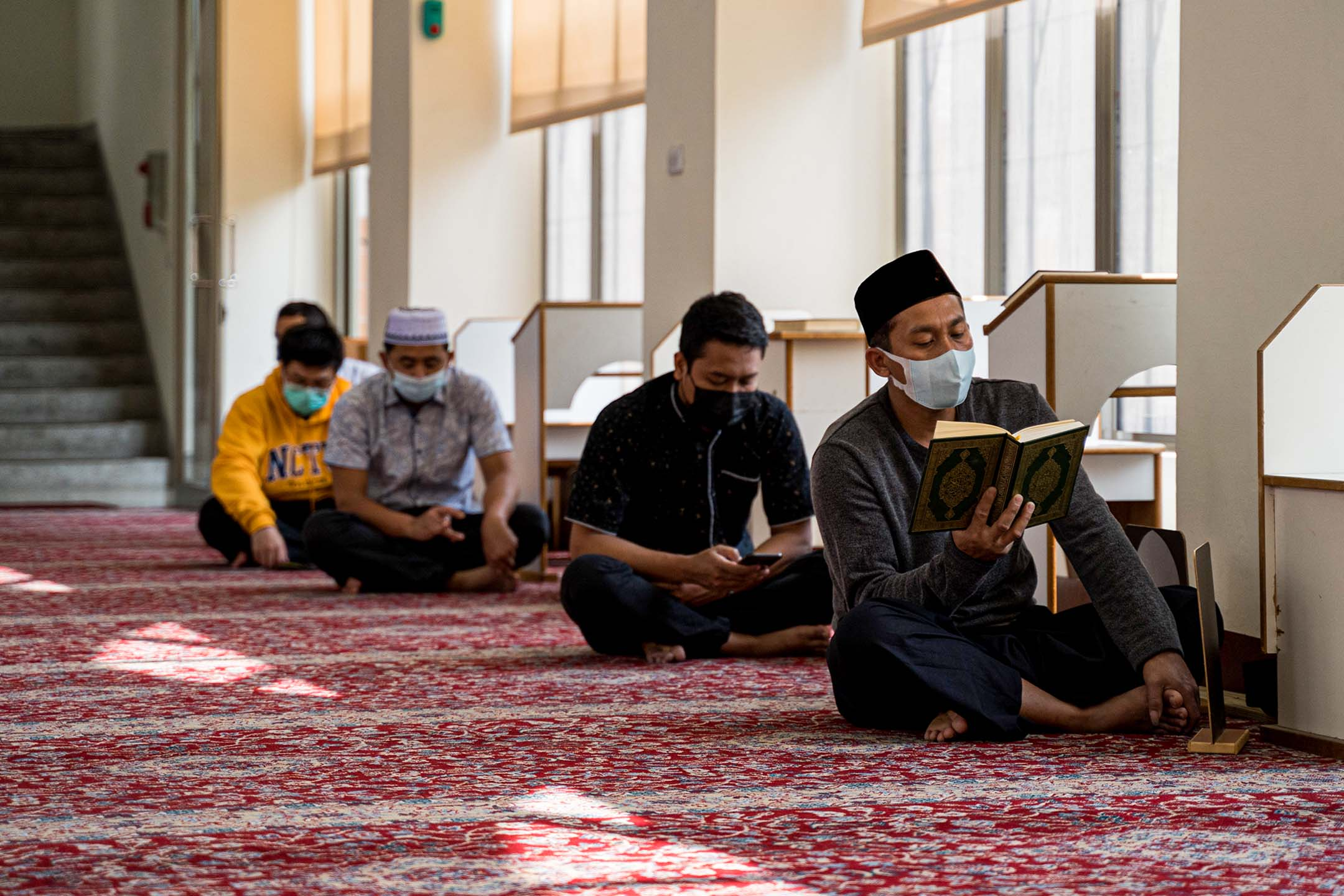 2021年3月26日,台中清真寺。