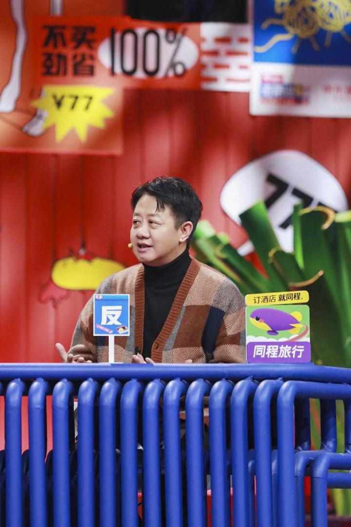 刘擎获邀请参加观点语言类综艺节目《奇葩说》。