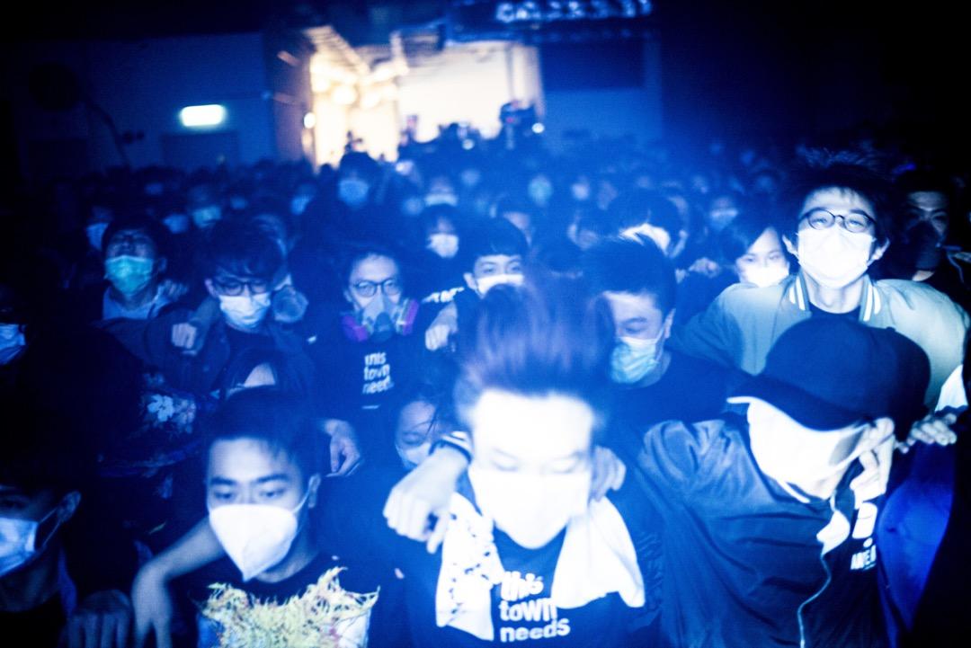 2020年2月27日,香港獨立音樂表演場地「This Town Needs」的最後一夜。