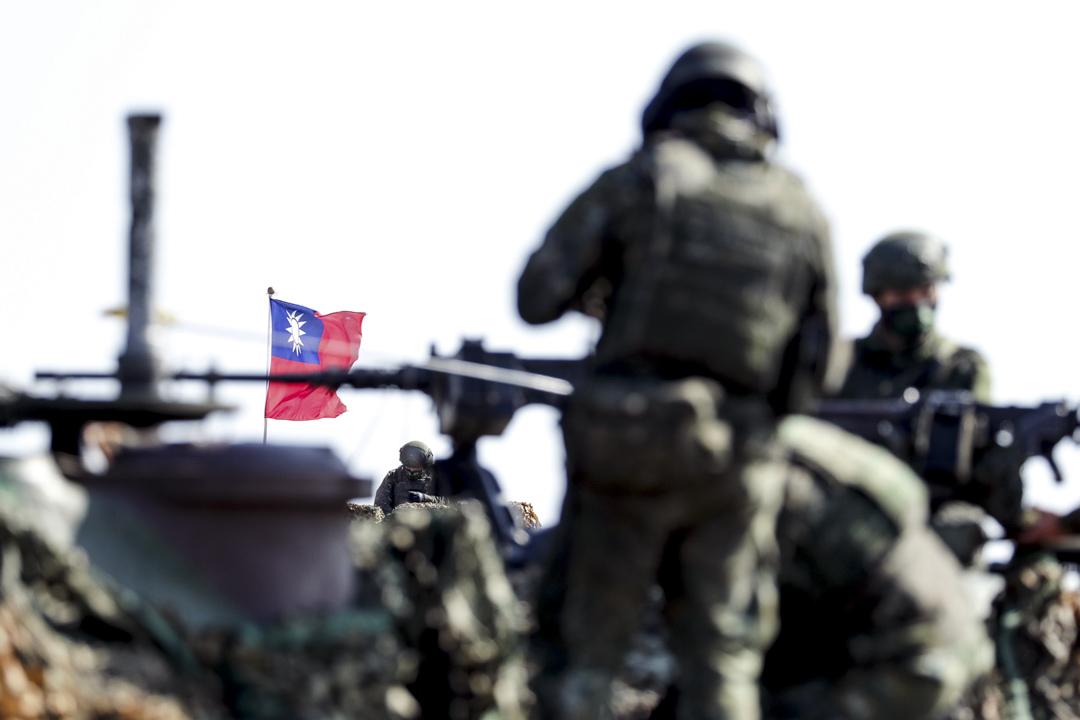 2021年1月19日,台灣新竹舉行的一次軍事演習。