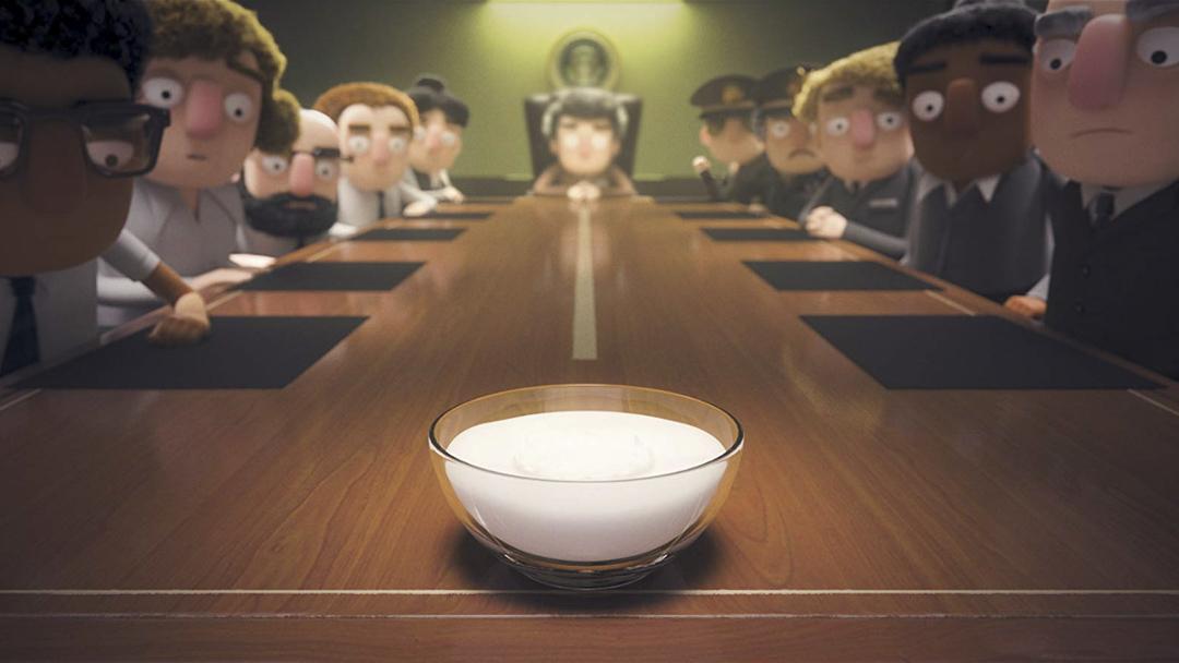 《愛‧死‧機械人》第一季《當優格佔領世界》(When the Yogurt Took Over)劇照。