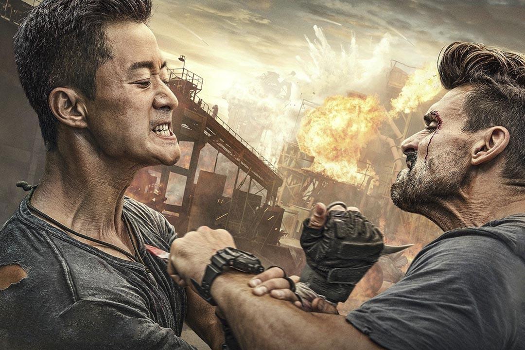 中國電影票房冠軍「戰狼2」。