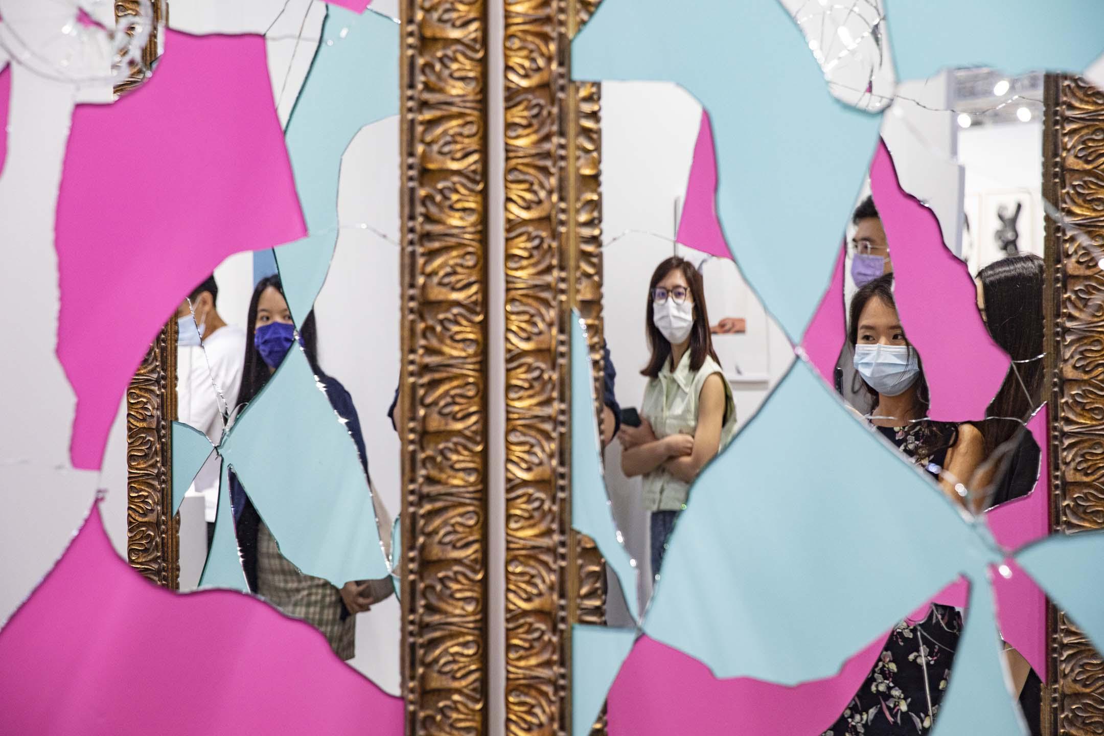 2021年5月22日,2021巴塞爾藝術展。 攝:陳焯煇/端傳媒