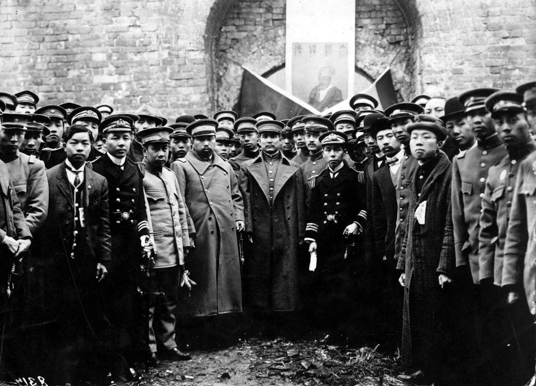1923年,中華民國大總統孫中山。