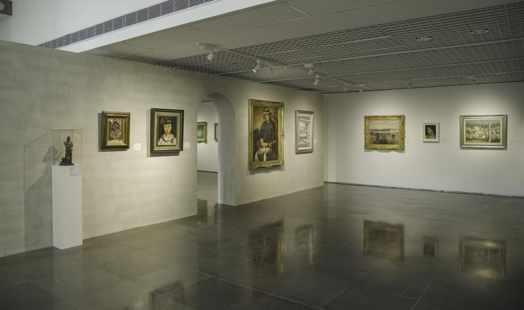 《不朽的青春──台灣美術再發現》展覽。