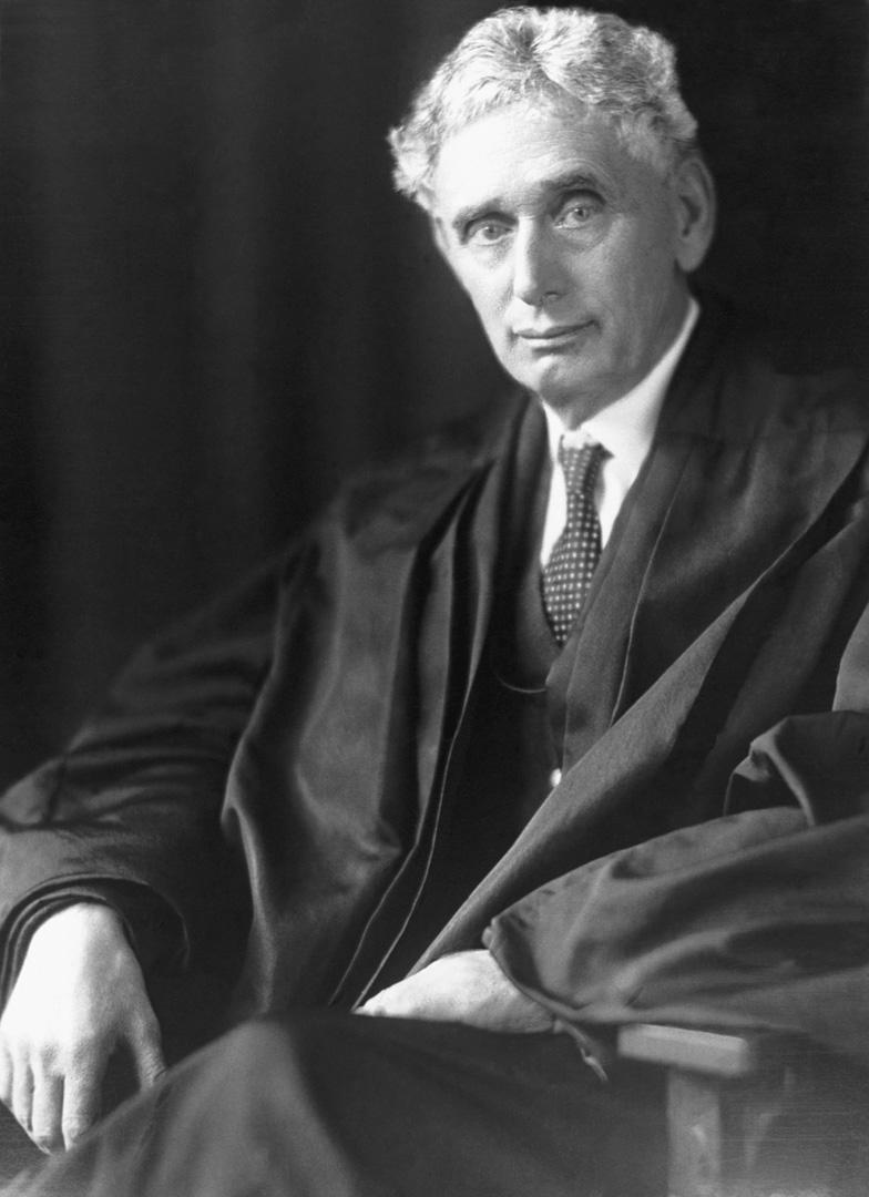 路易斯·布蘭迪斯(Louis Brandeis 1856–1941)。