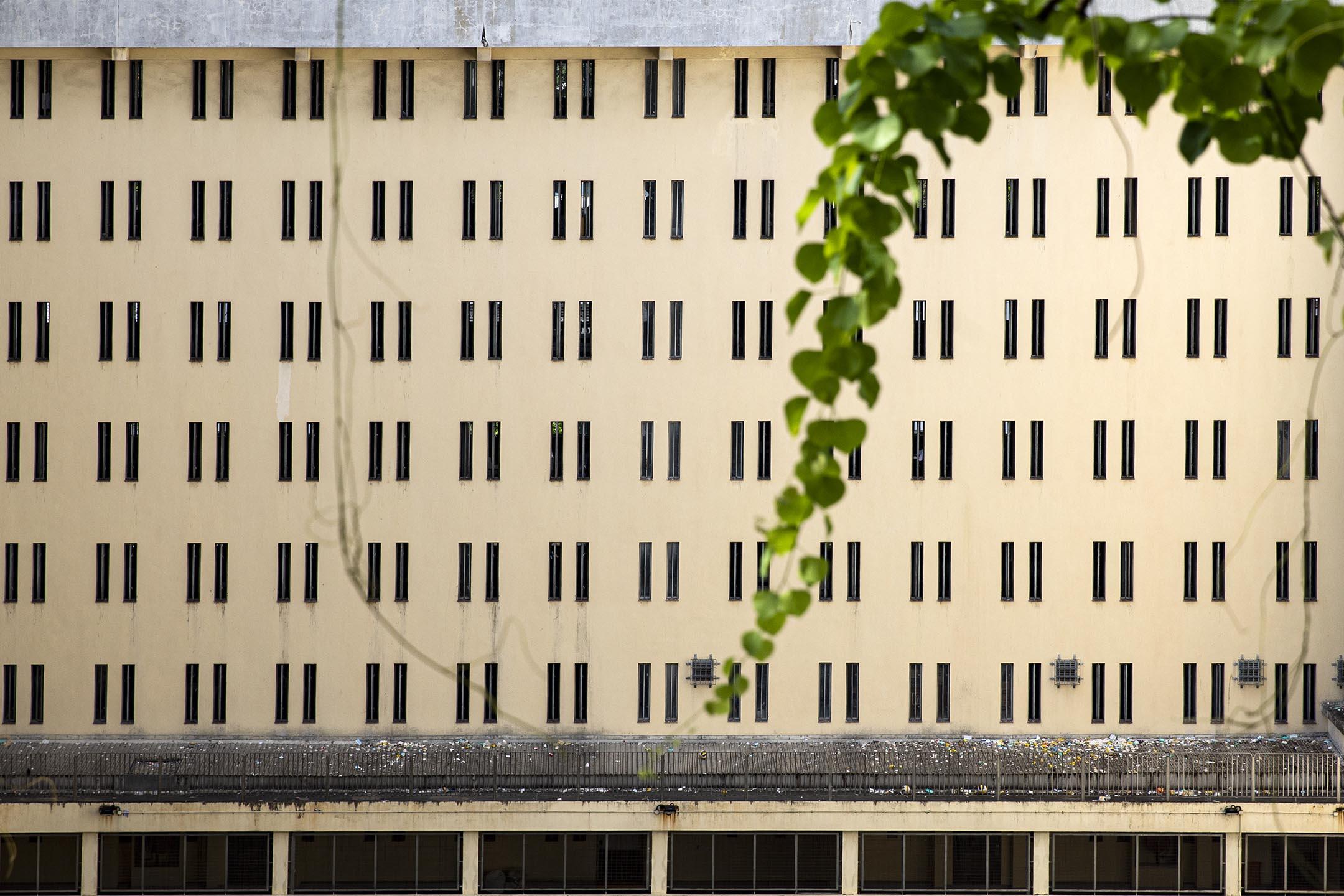 2021年5月28日,荔枝角收押所。 攝:陳焯煇/端傳媒