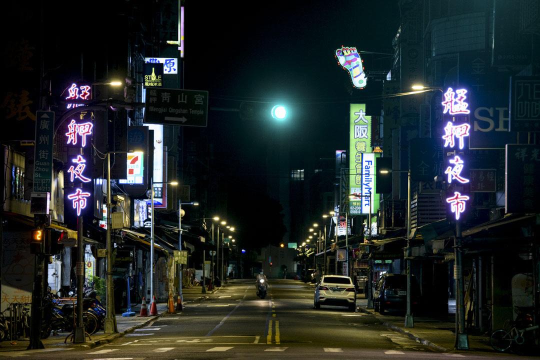 受疫情影響,艋舺夜市全面歇業,萬華餐飲業大受打擊。