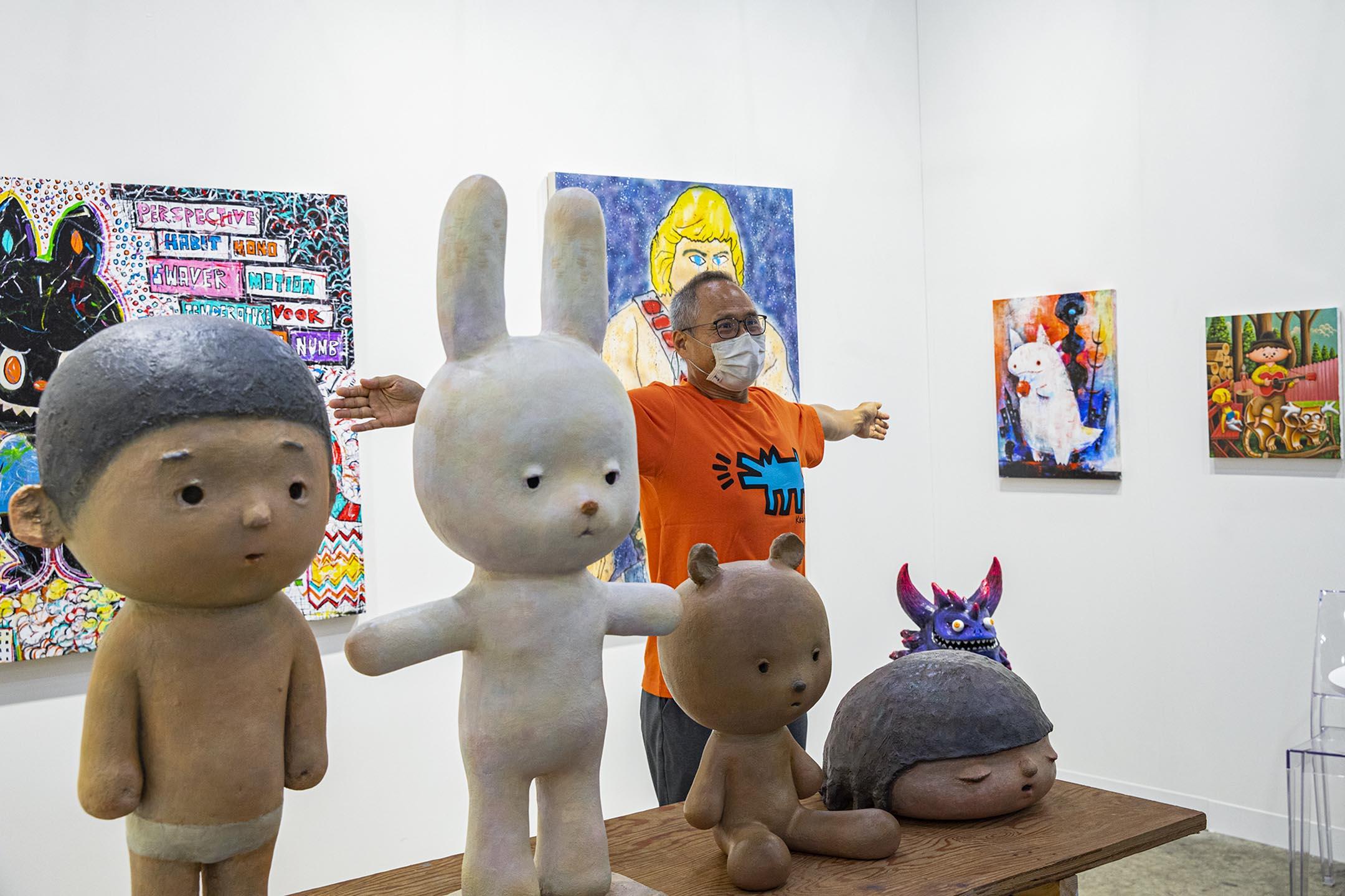 2021年5月23日,2021巴塞爾藝術展。