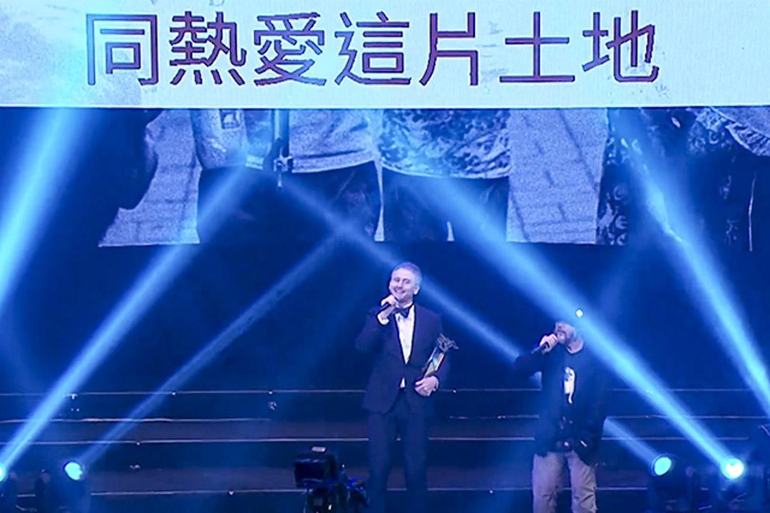 2016年「毛記電視」的《十大勁曲金曲分獎典禮》。