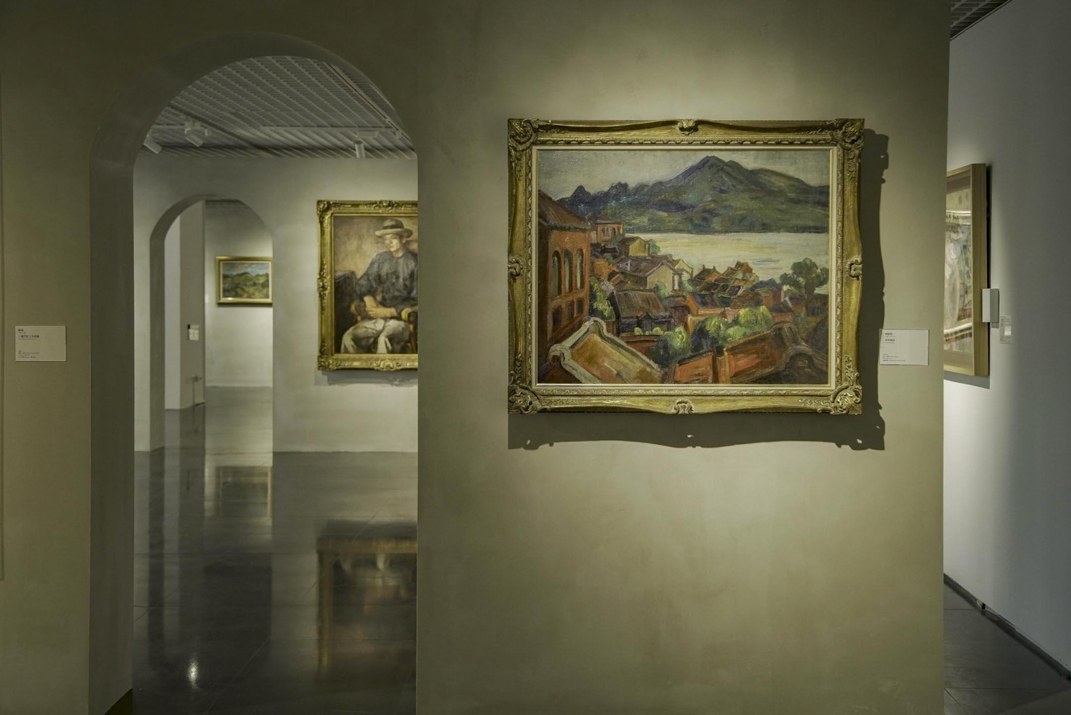 《不朽的青春──臺灣美術再發現》展覽。 圖片來源:北師美術館