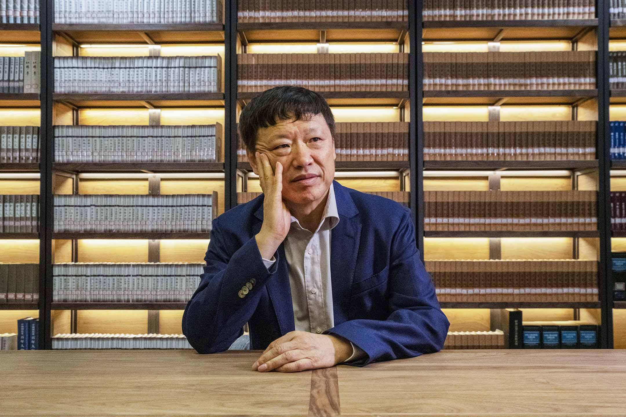 2019年6月5日中國北京,《環球時報》主編胡錫進。 攝:Chance Chan/Reuters/達志影像