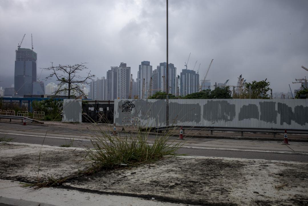 2021年4月,香港土瓜灣。