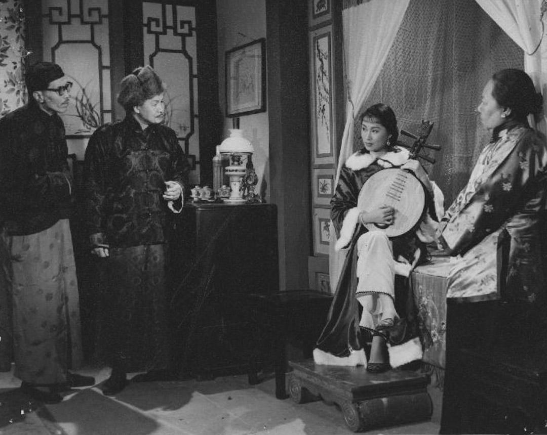 《胭脂虎》(1955)劇照。