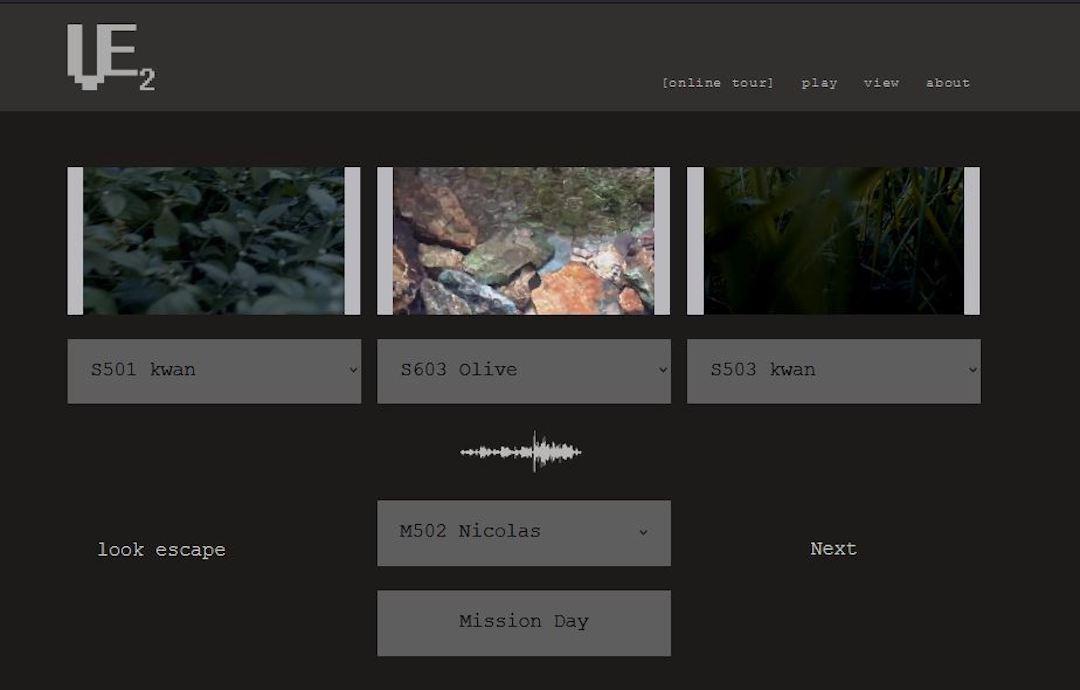 駕駛模型車以外,也可自行挑選相片、影像及聲音藝術的組合,發掘更多作品的變化。
