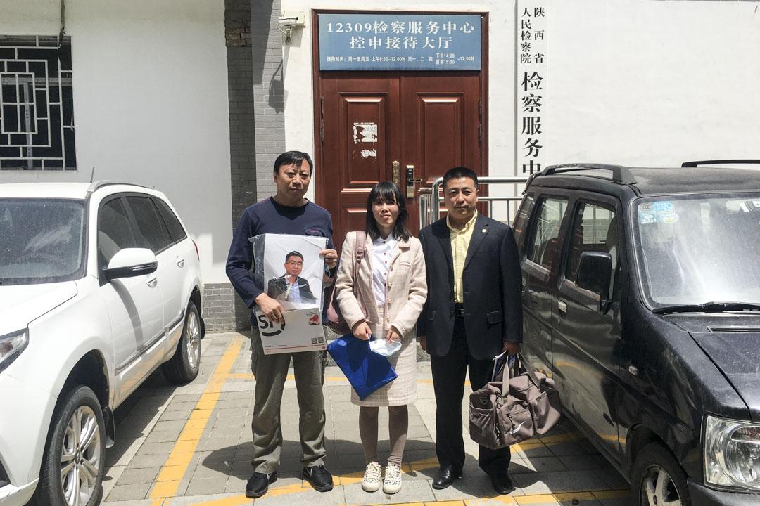 2021年3月底,陈紫娟与律师到陕西省人民检察院控诉常玮平在此前的监视居住中遭遇的酷刑。