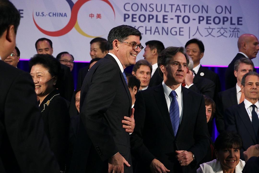 2015年6月23日,美國首都華盛頓特區,時任美國副國務卿布林肯出席一個中美戰略經濟對話。