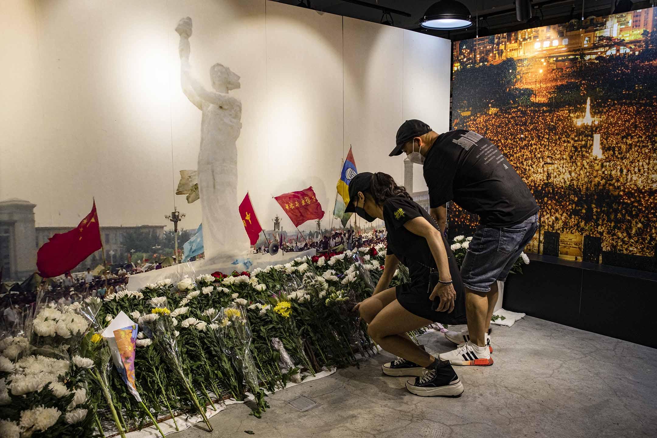 2021年6月1日香港,六四紀念館。 攝:陳焯煇/端傳媒