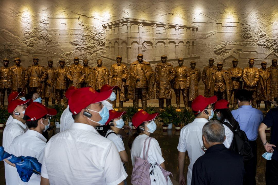 2021年5月30日,有不少團體參觀遵義會議紀念館。