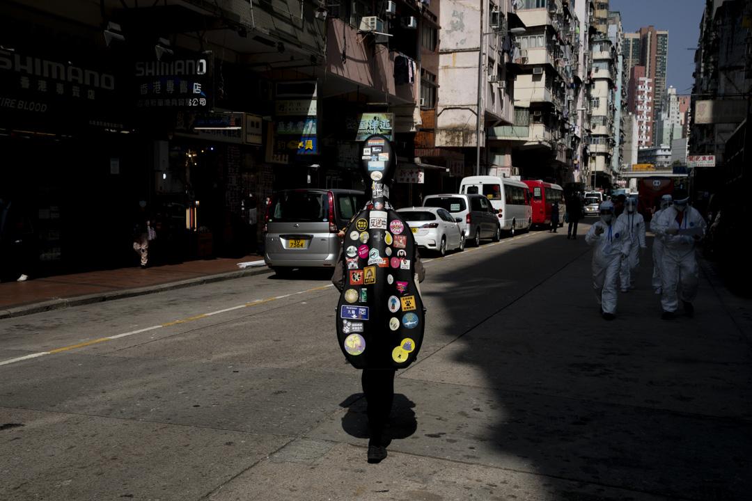 2021年1月,香港佐敦。