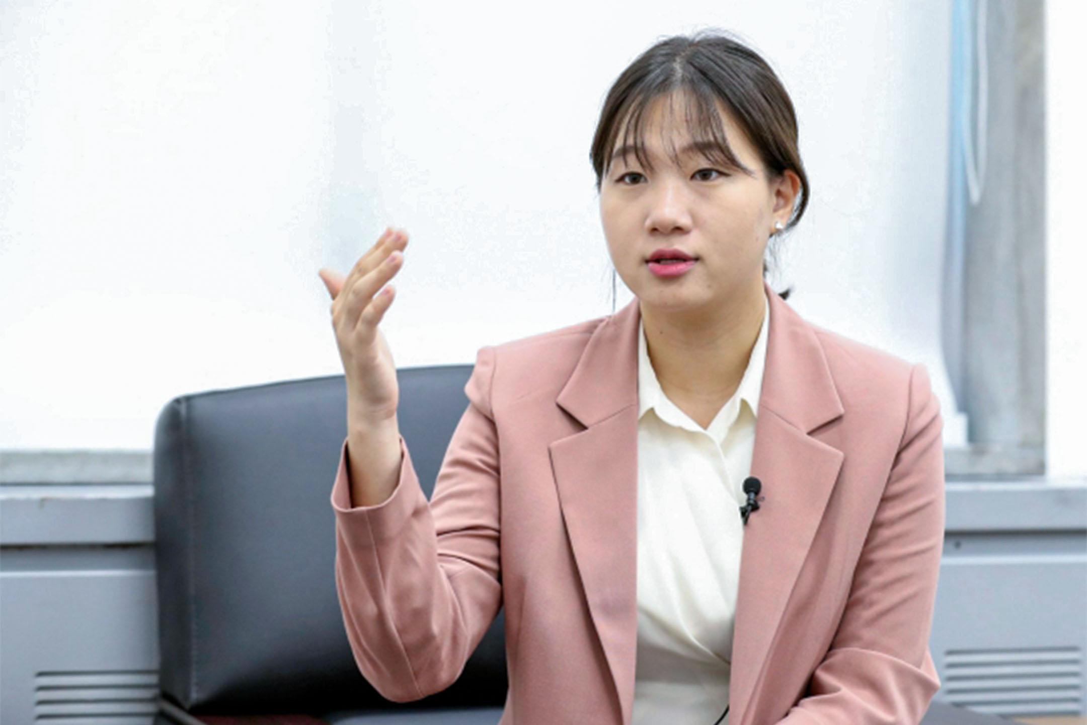 南韓女大生朴成玟。 圖:網上圖片