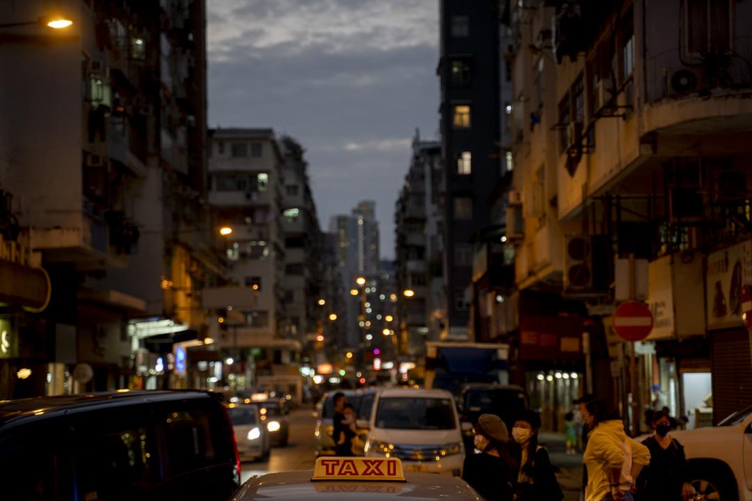 2020年11月,香港深水埗。