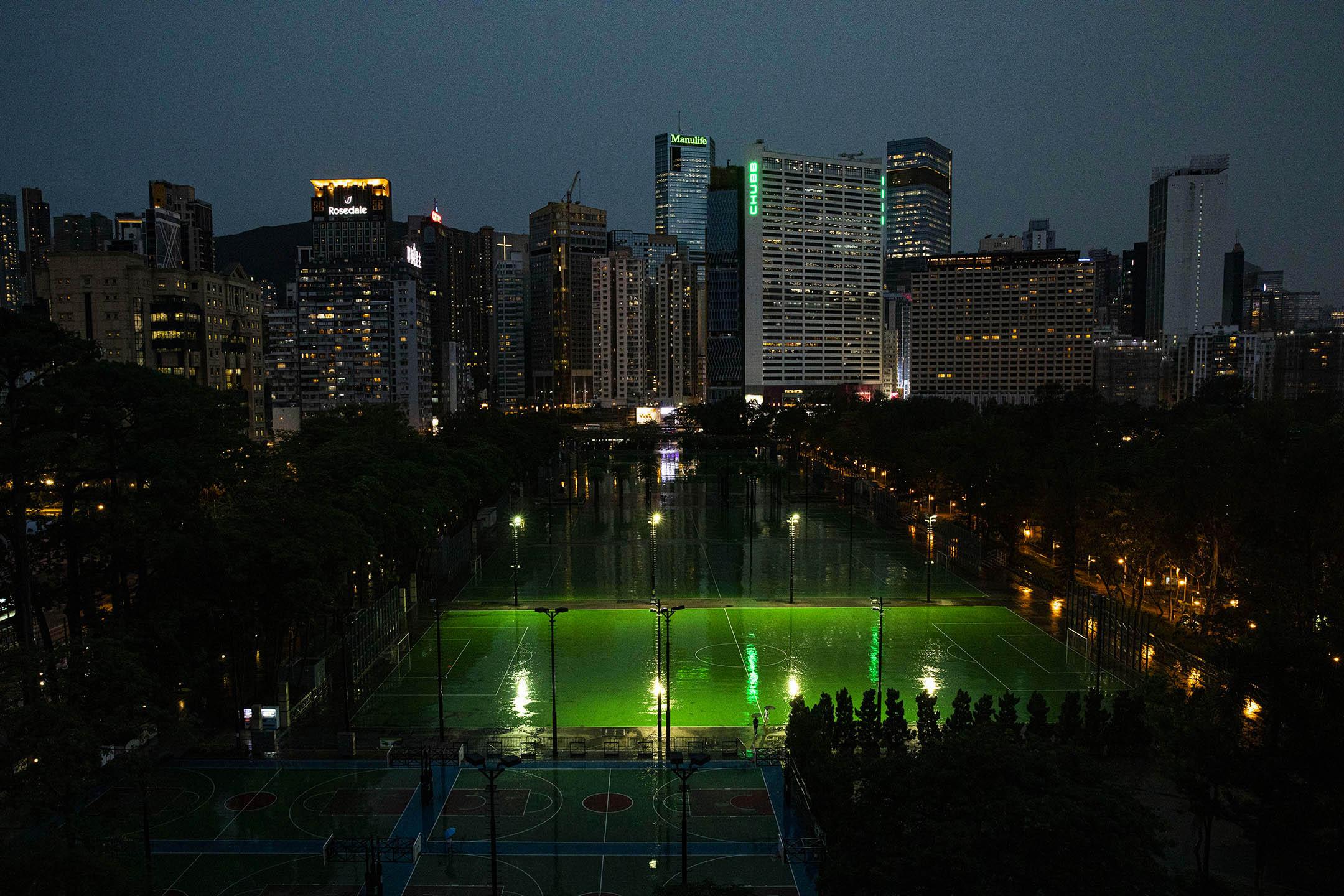 2021年6月1日,香港維多利亞公園。 攝:陳焯煇/端傳媒