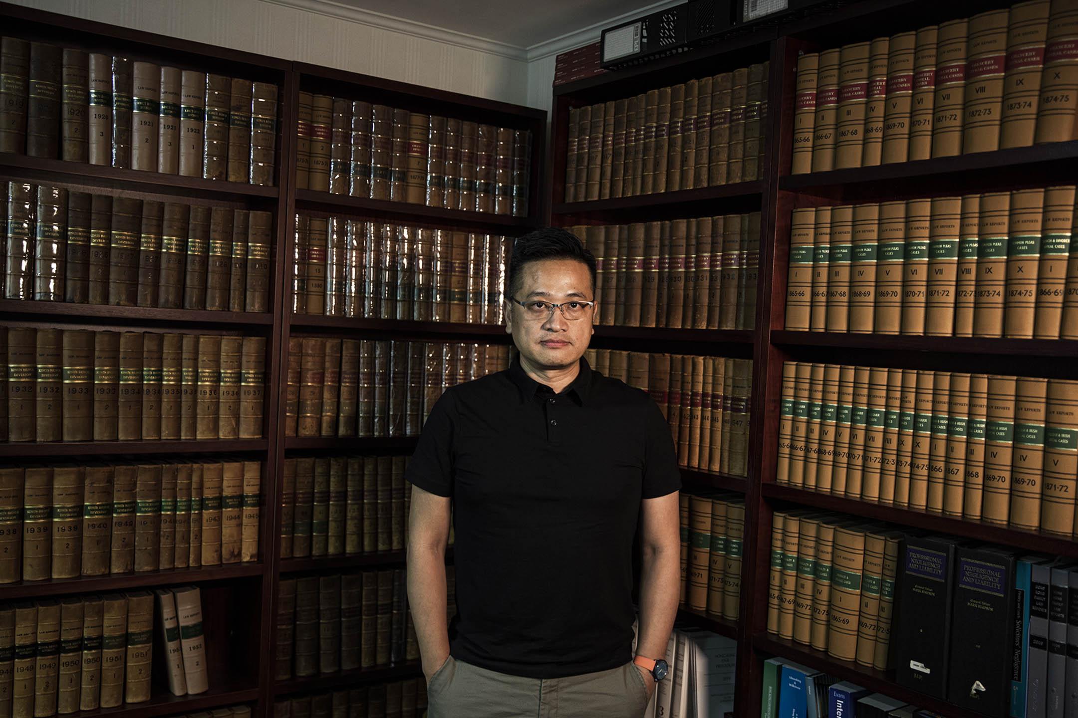 吳宗鑾大律師。