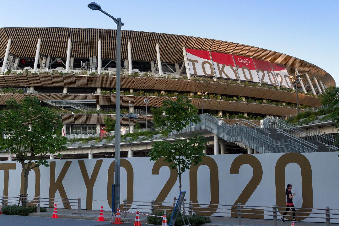 2021年7月17日,日本東京奧運會比賽場。 攝:Damon Coulter/Getty Images