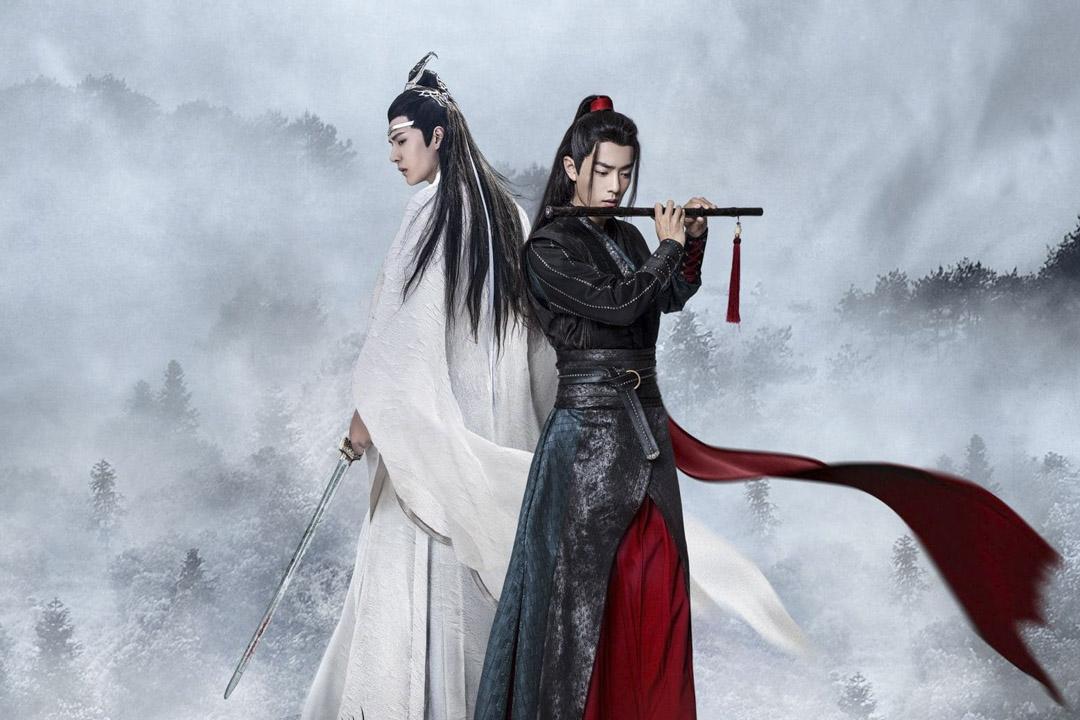 《陳情令》中的肖戰與王一博。  網上圖片