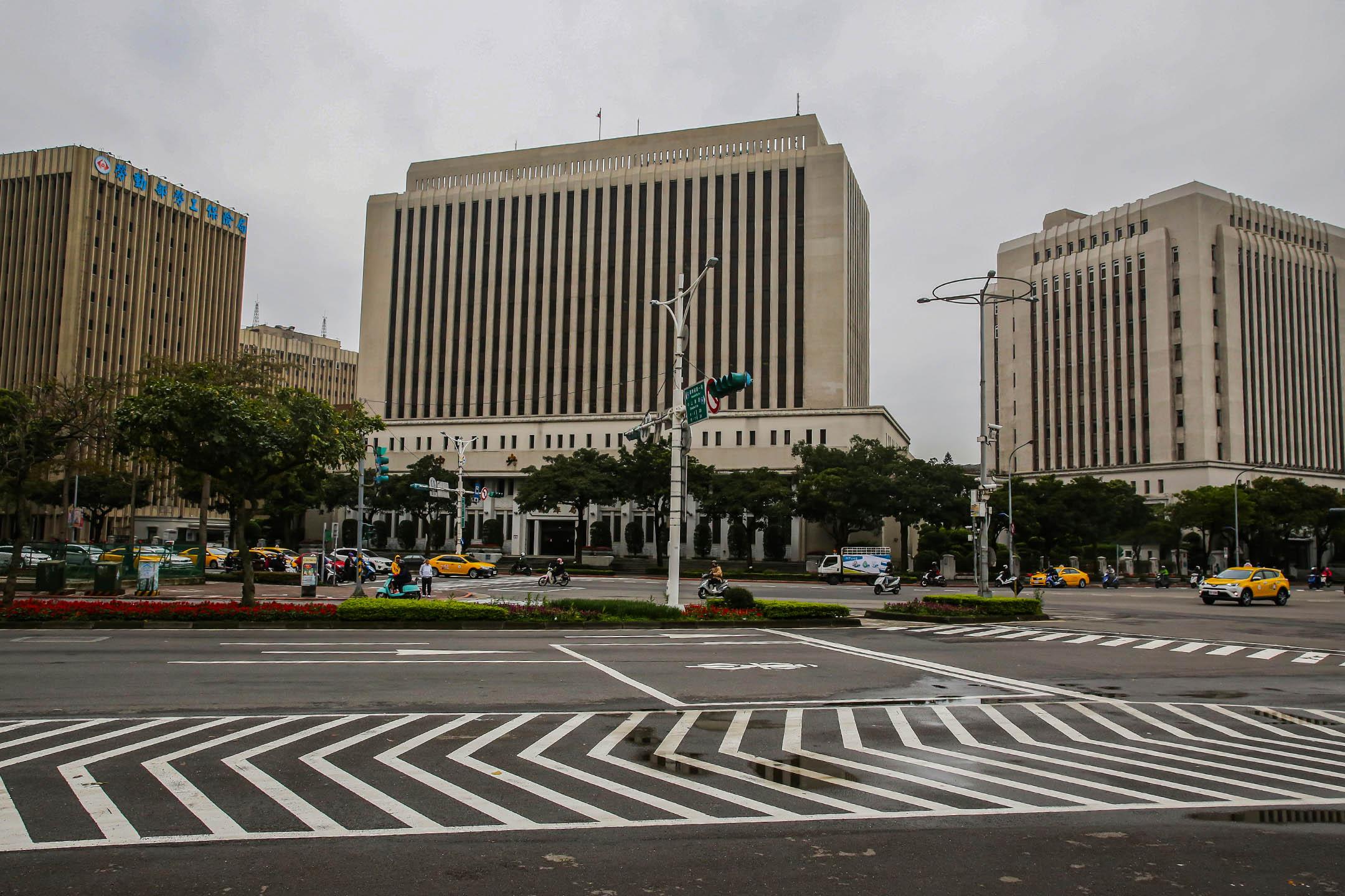 2018年2月26日台灣台北,台灣中央銀行總部大樓。 攝:Billy H.C. Kwok/Bloomberg via Getty Images