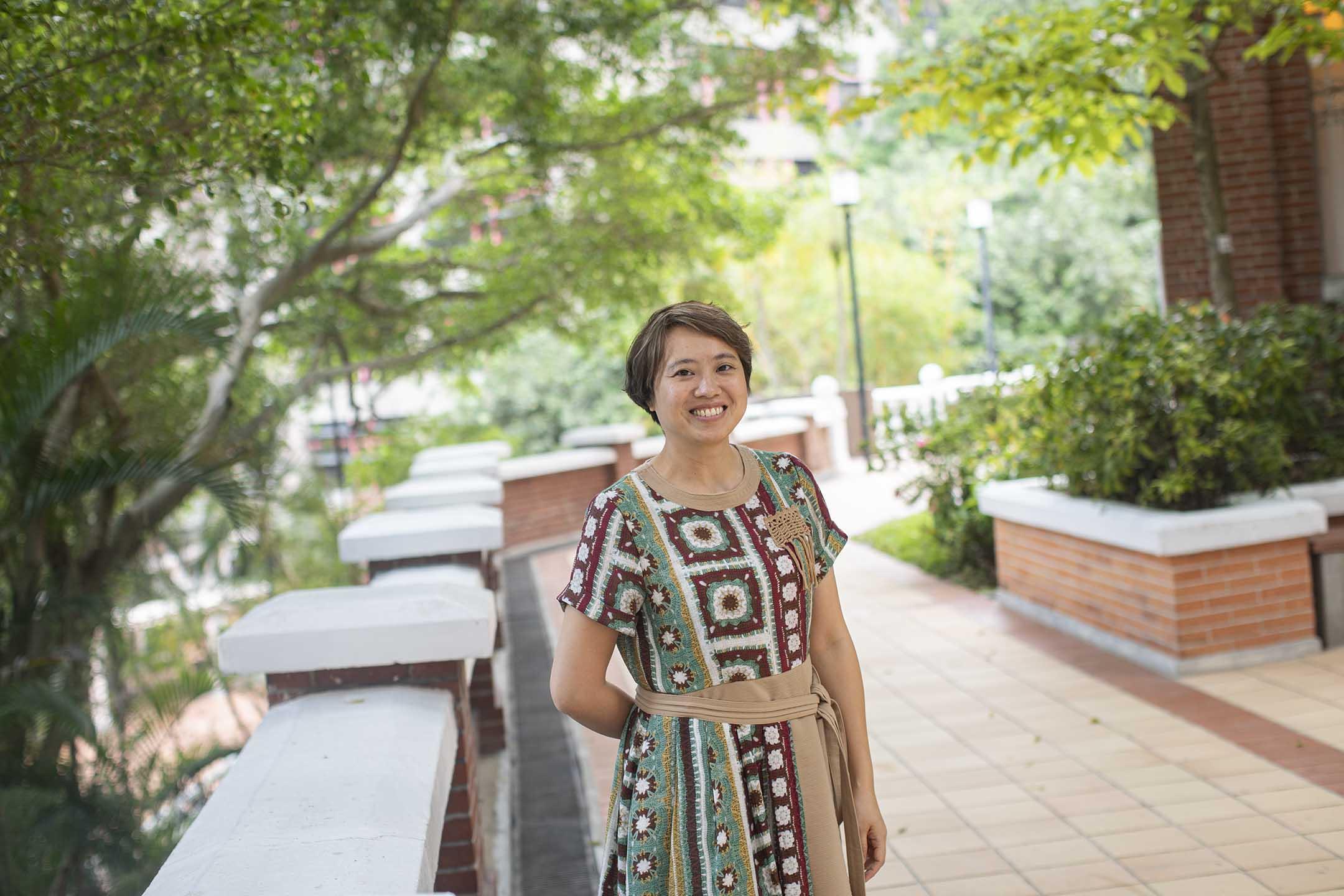 香港大學吞嚥研究所所長、言語治療師陳文琪。