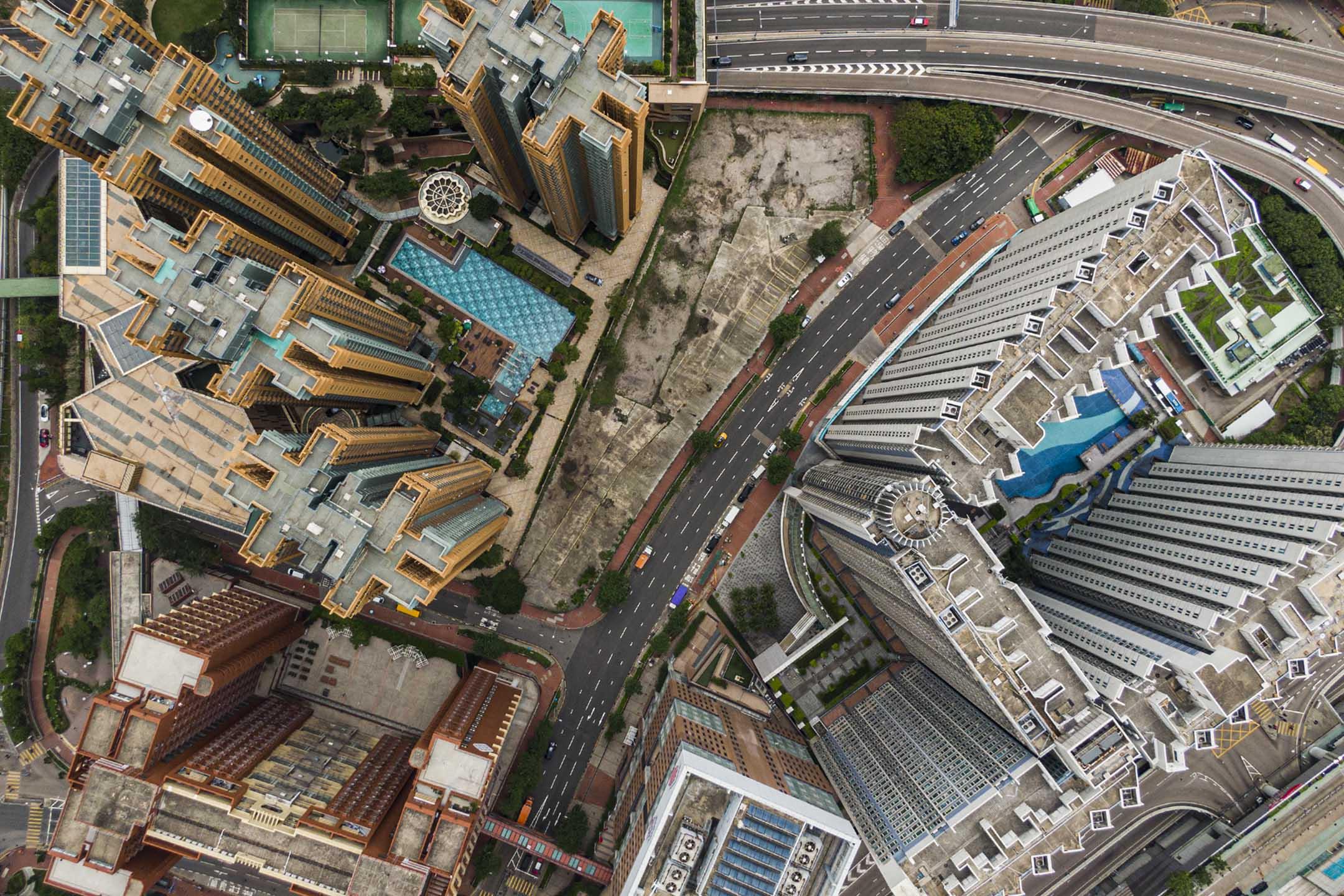紅磡仁勇街與紅樂道交界的閒置土地。 攝:陳焯煇/端傳媒