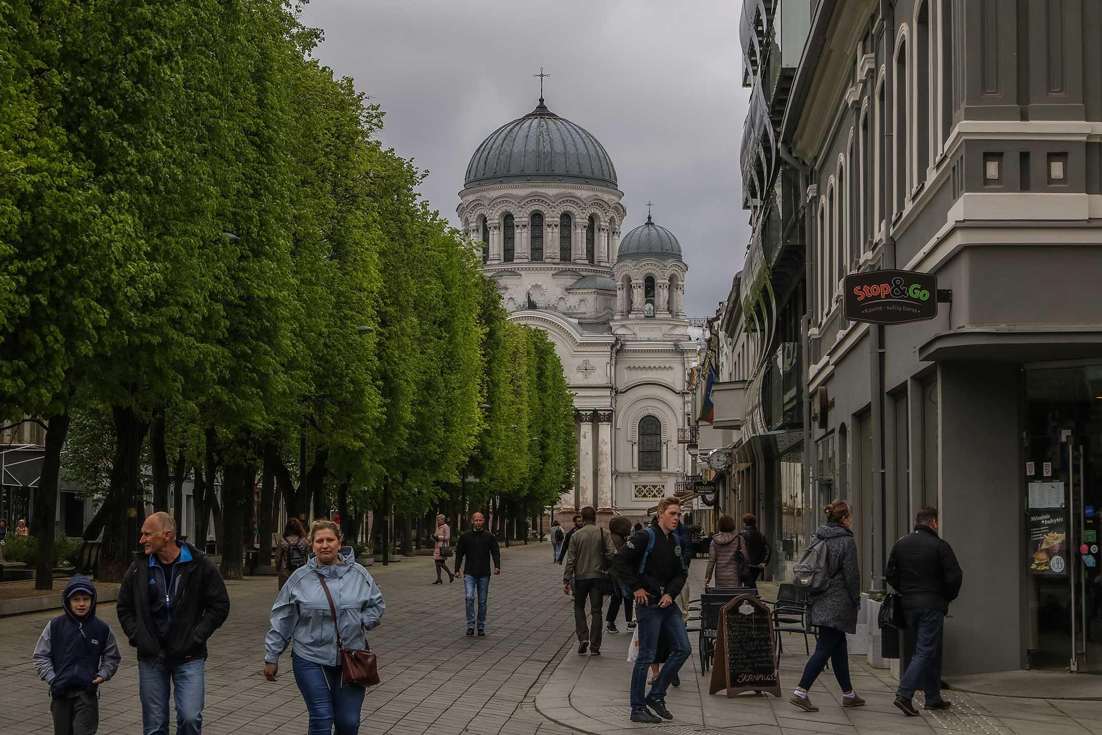 2019年5月2日,立陶宛考納斯。