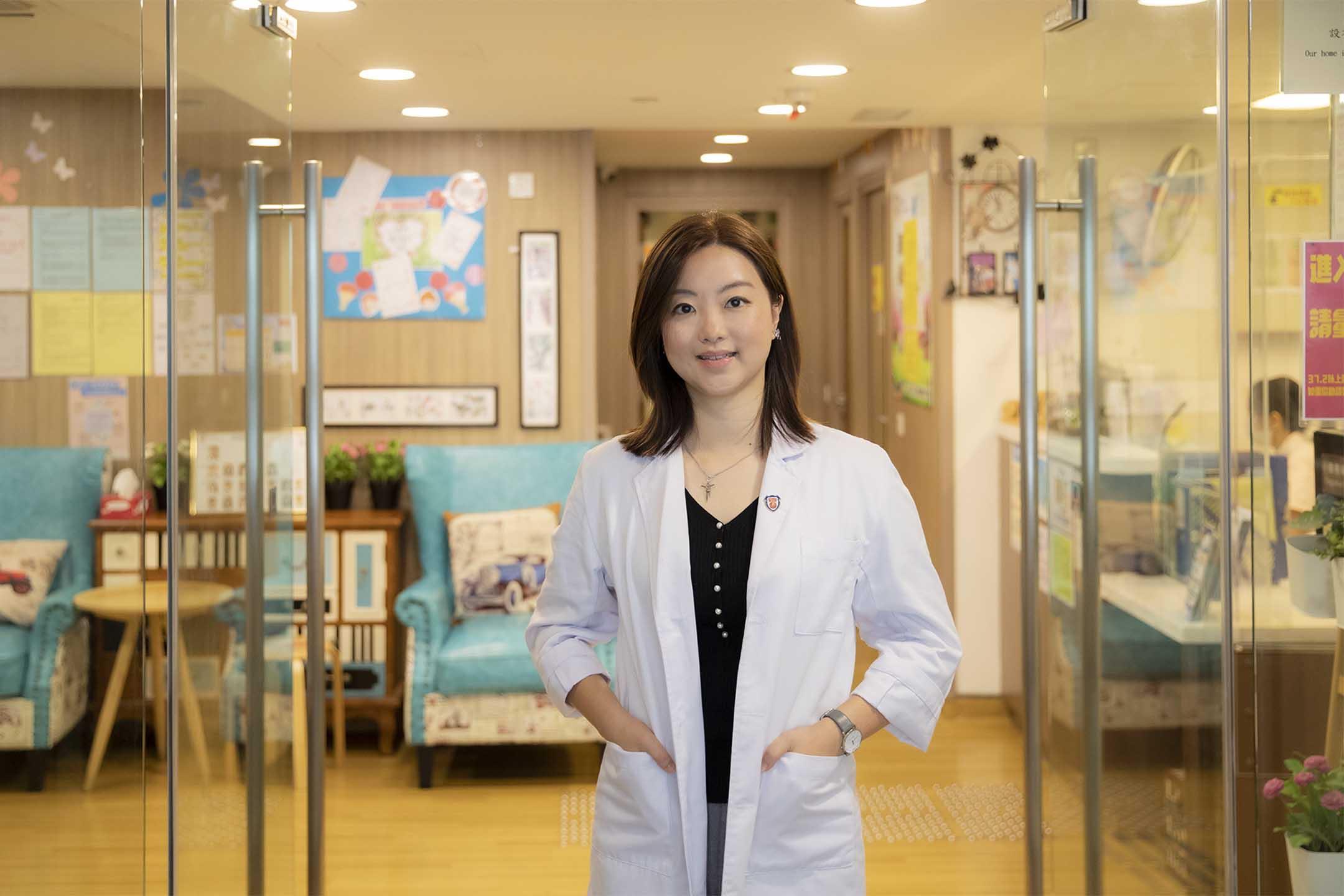 保良局高級言語治療師李曉彤。