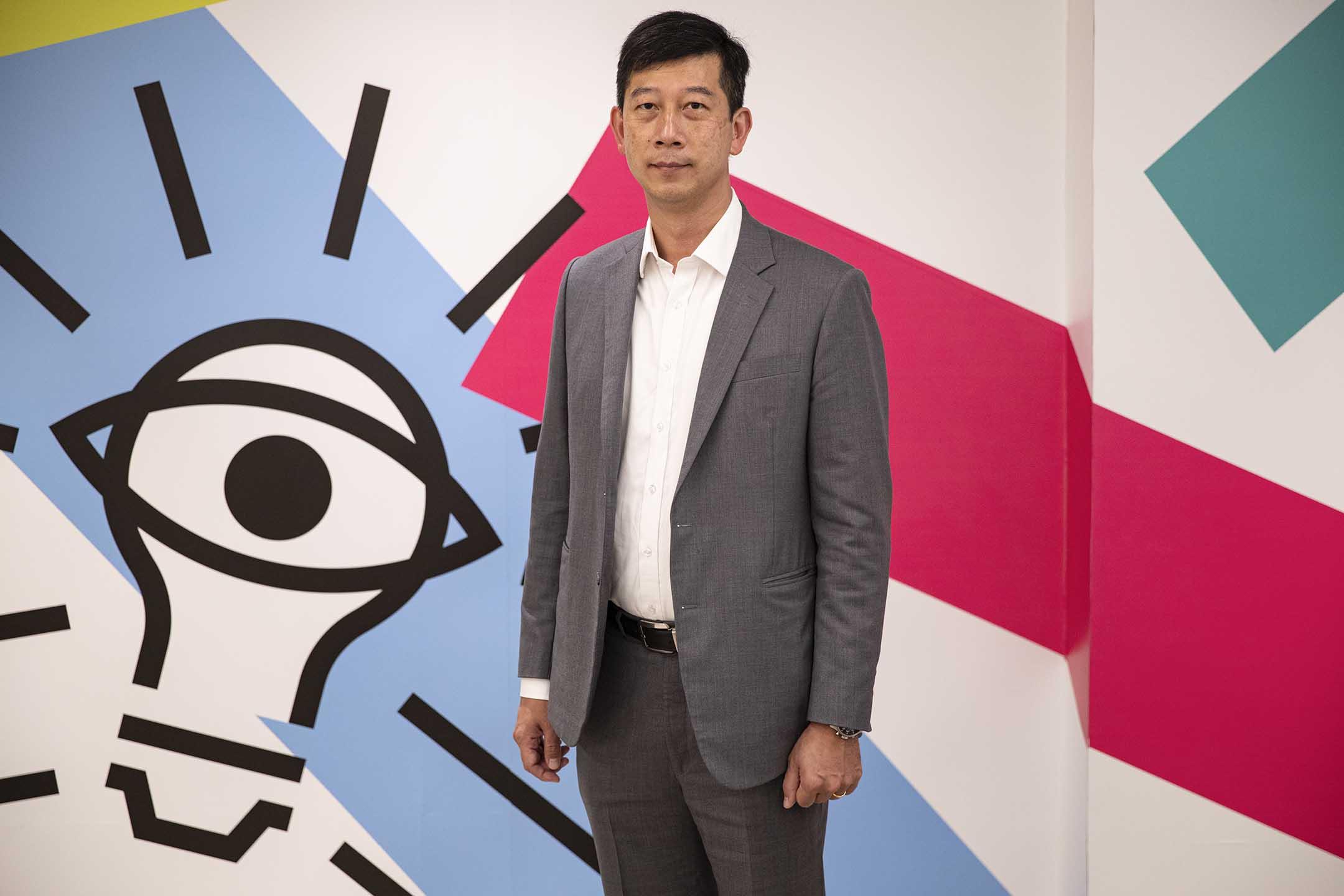 文化村副總裁陳建鴻。