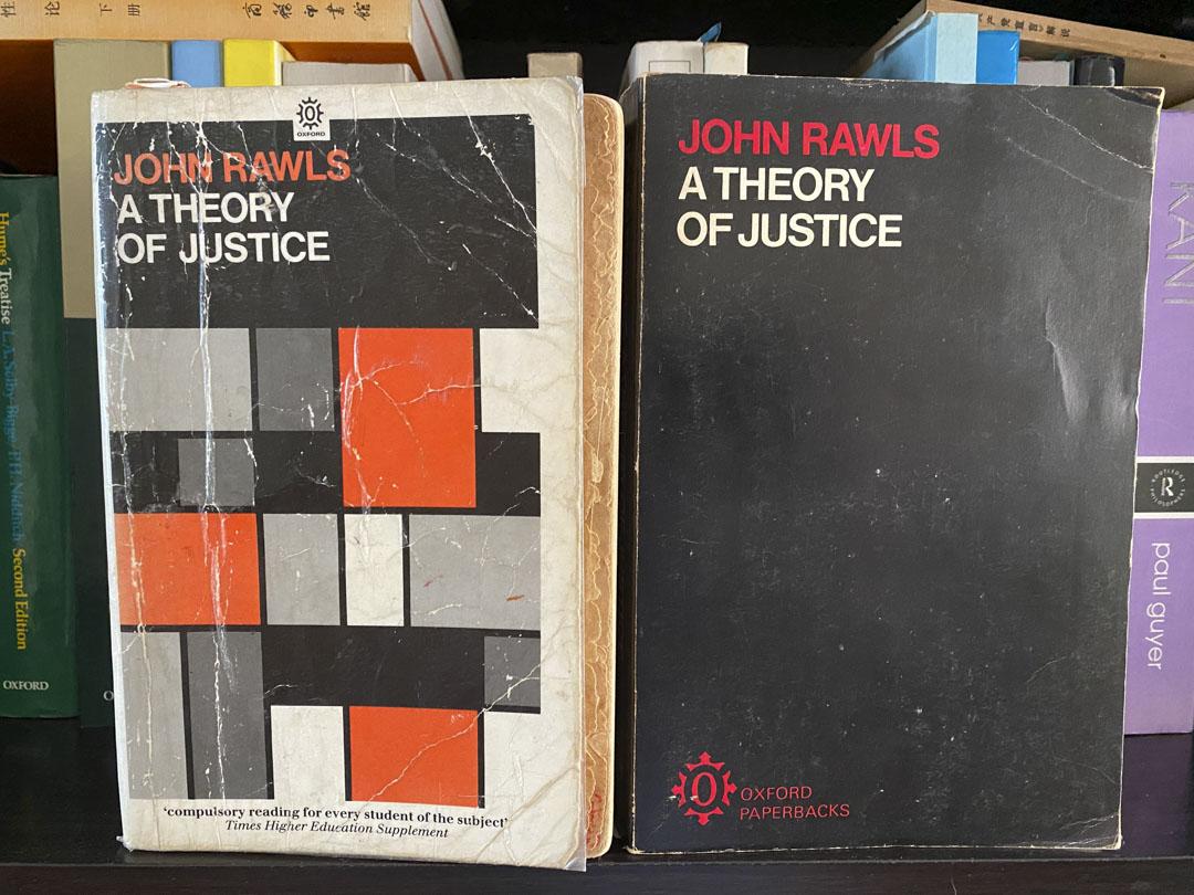 《正義論》(A Theory of Justice)。