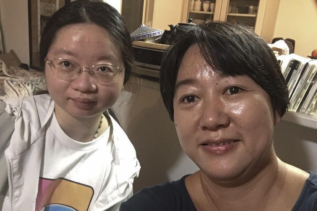 正琪和阿古智子的合照。