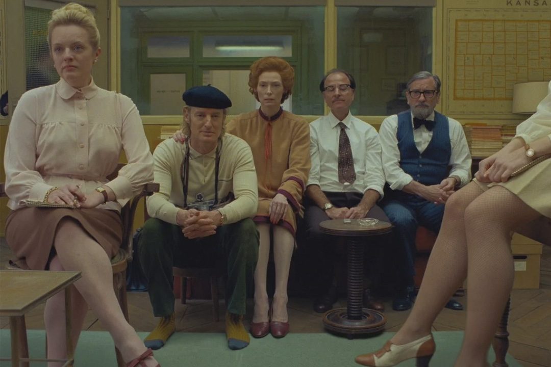 《法蘭西特派》(The French Dispatch)劇照。