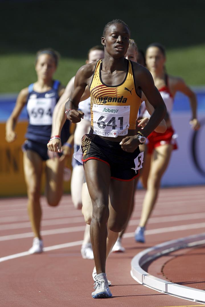 烏干達田徑女將尼格薩(Annet Negesa)。