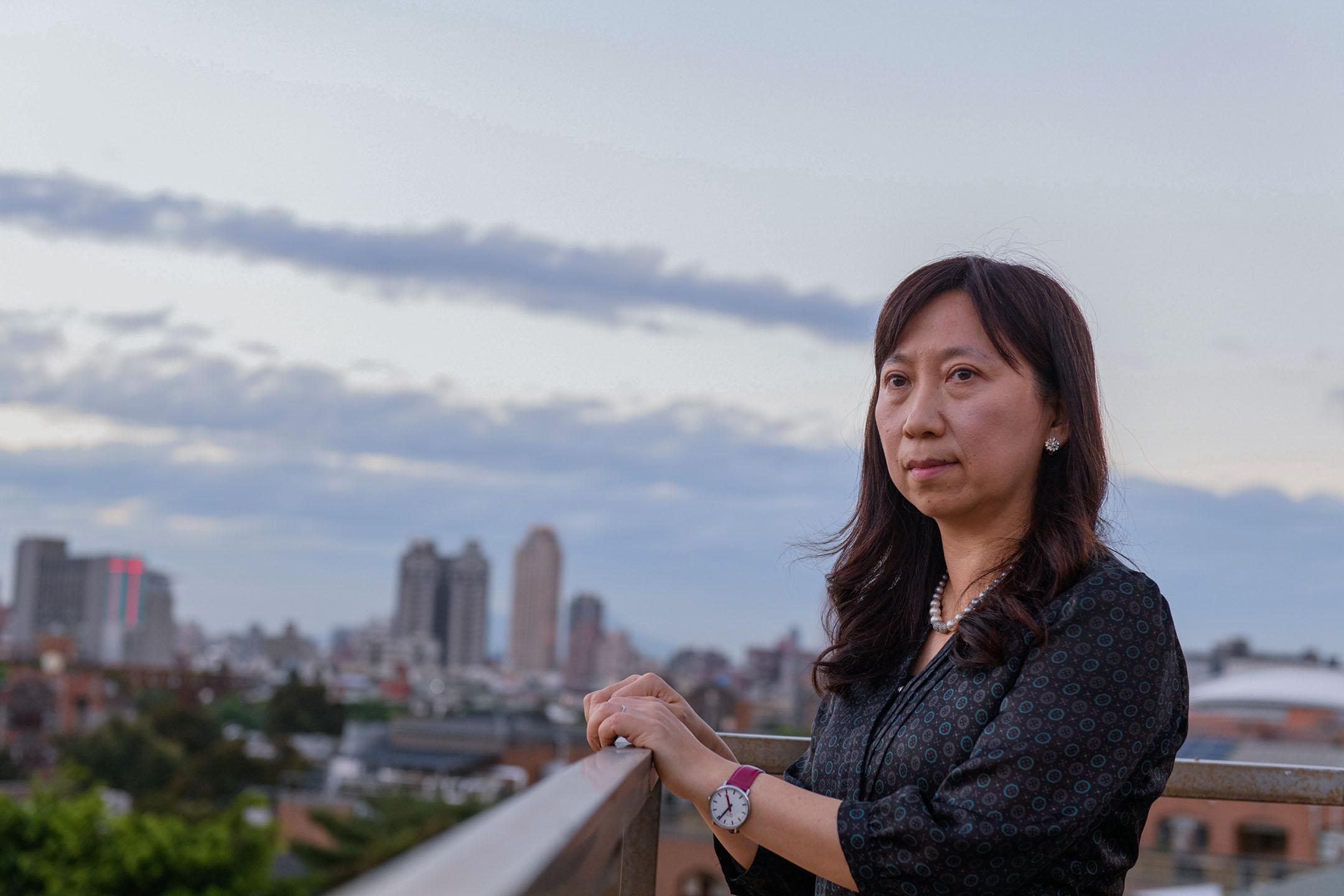 台灣大學地理學系黃宗儀教授。 攝:李昆翰/端傳媒