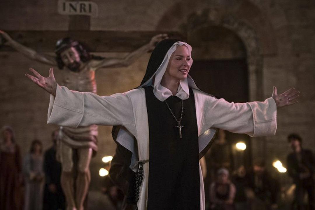 《聖母》(Benedetta)劇照。
