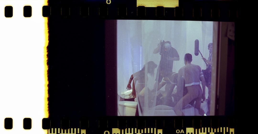 《Hologang》拍攝現場。