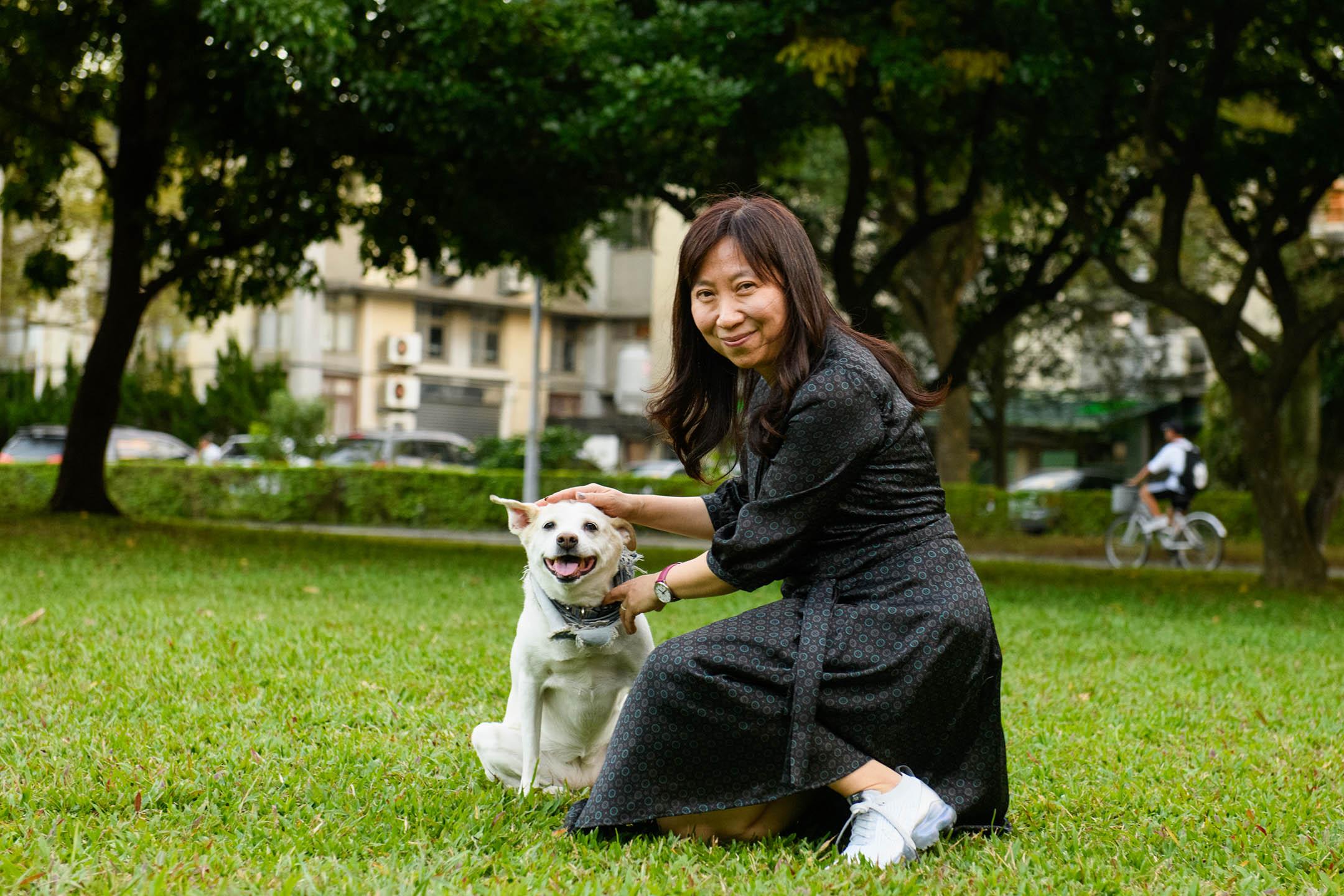 台灣大學地理學系黃宗儀教授。