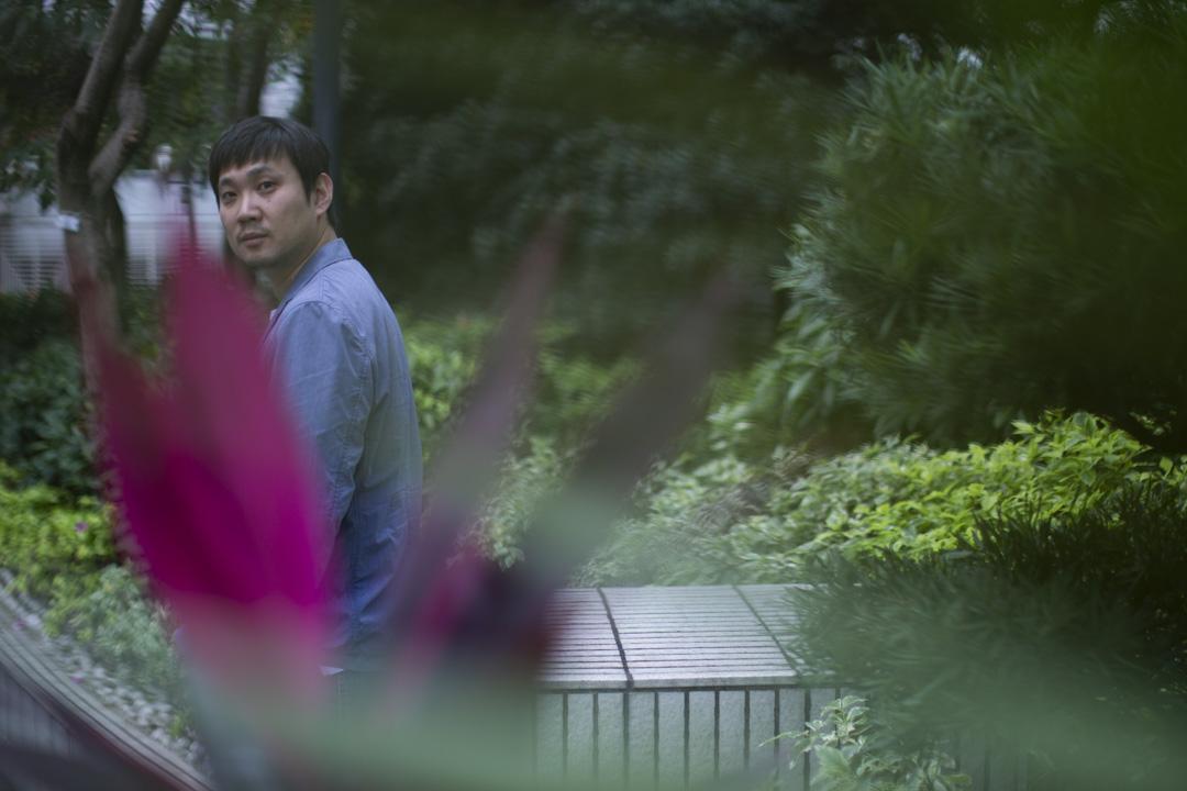 日本導演濱口龍介。 攝:林振東/端傳媒