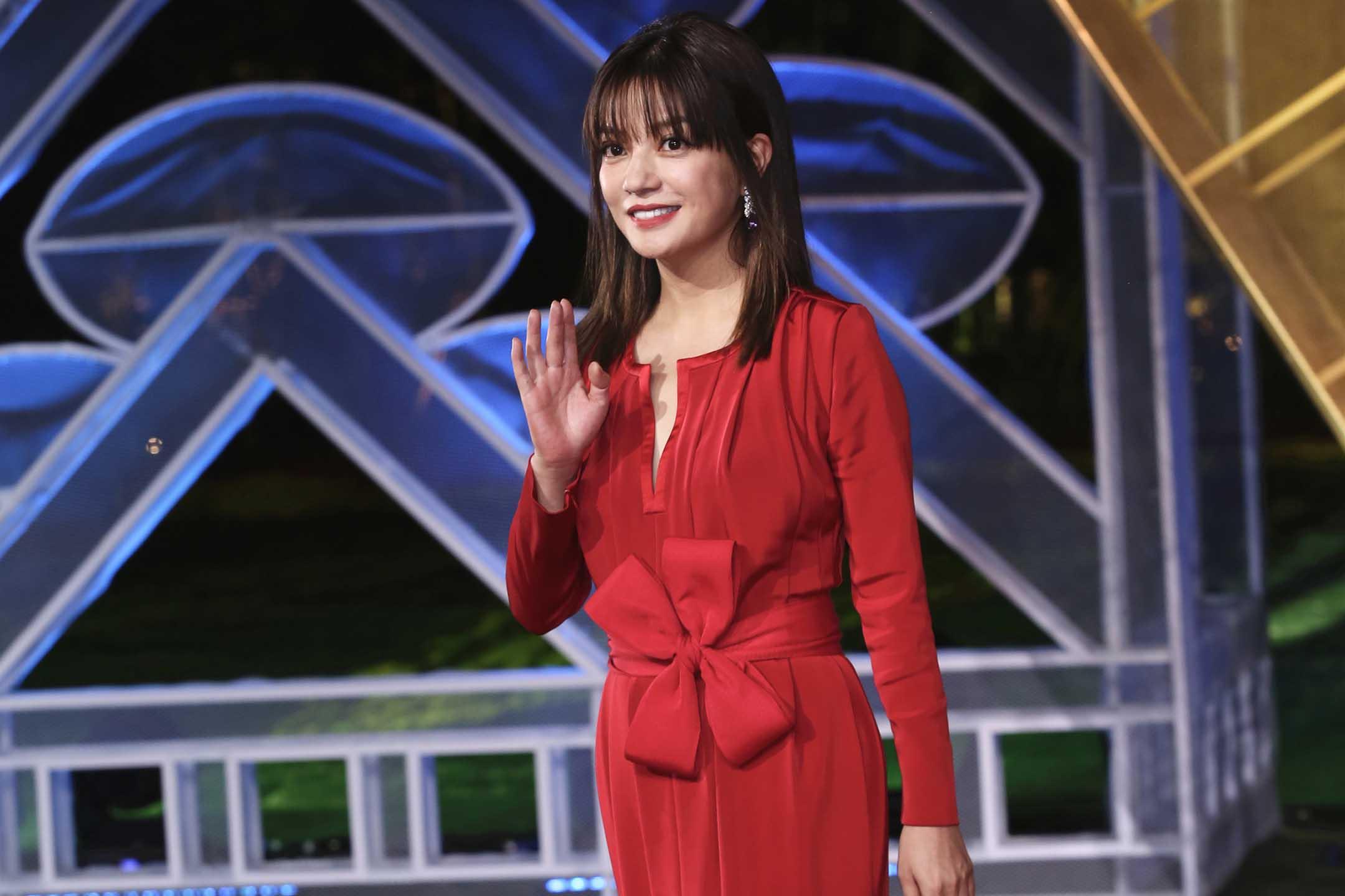 2019年11月23日中國廈門,女演員趙薇出席第28屆中國金雞百花電影節閉幕式。 圖:VCG via Getty Images