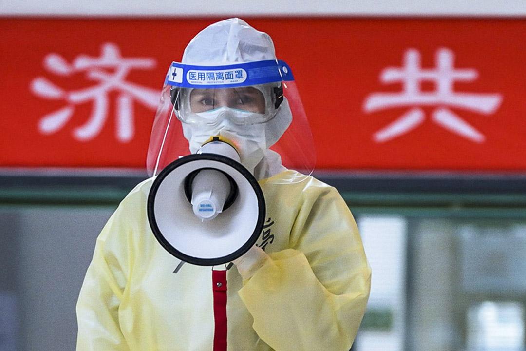 《中國醫生》電影劇照。 網上圖片