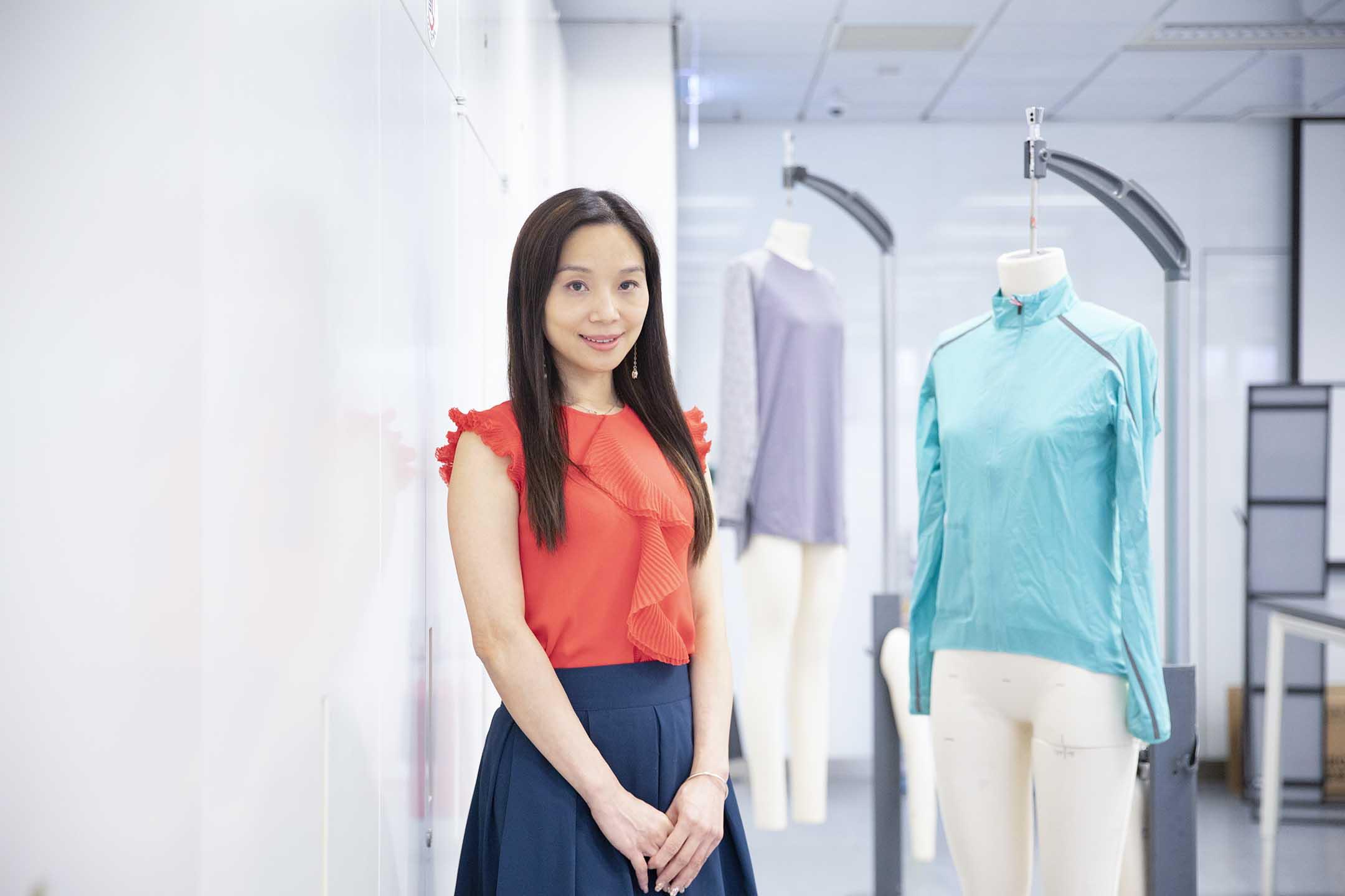 香港理工大學應用科學及紡織學院副院長葉曉雲。