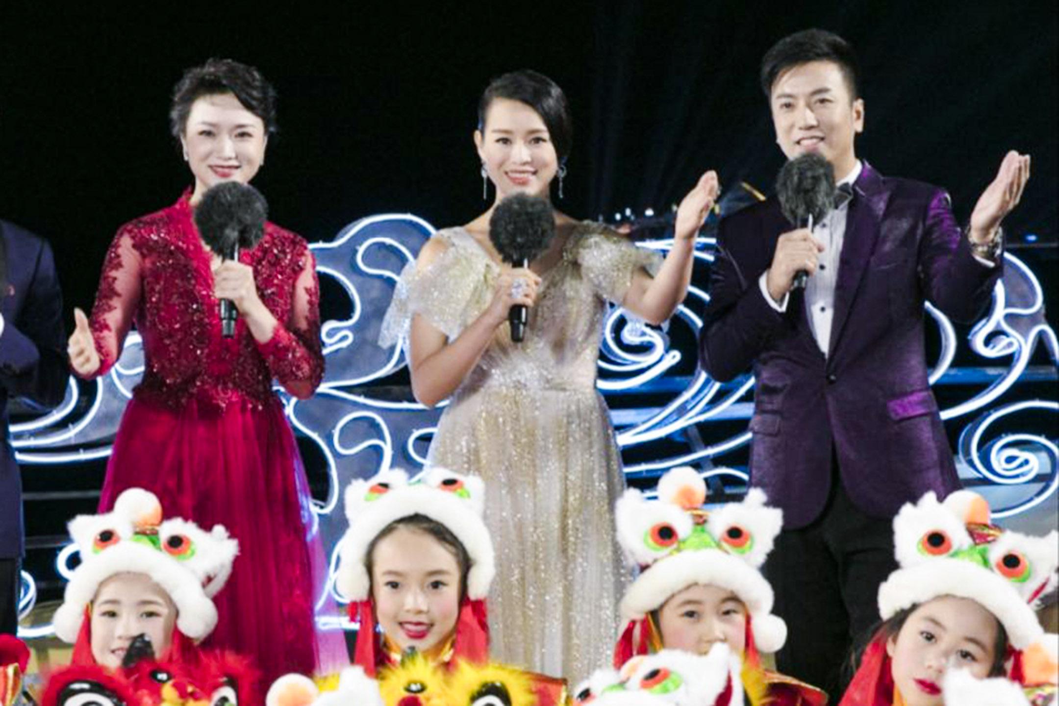 胡杏兒出現在2020年央視春節聯歡晚會,擔任大灣區會場的主持。