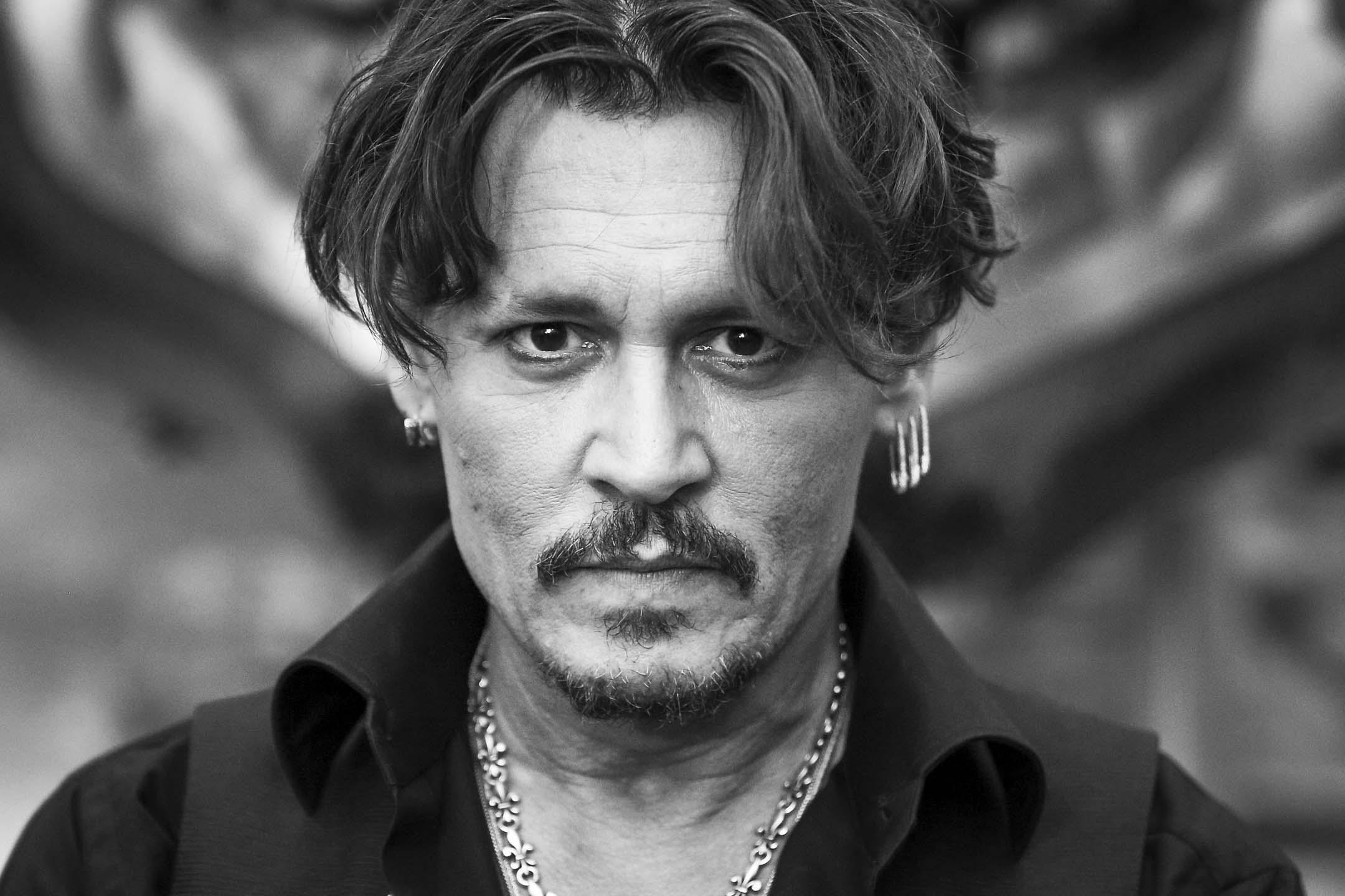 2017年5月18日,強尼.戴普(Johnny Depp)在杜比劇院出席《加勒比海盜-神鬼奇航:死無對證》(Pirates of the Caribbean: Dead Men Tell No Tales) 首映。 攝:Rich Fury/Getty Images